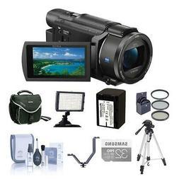 Sony FDR-AX53 4K Ultra HD Handycam Camcorder with Premium Ac