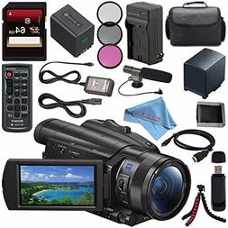 Sony FDR-AX700 4K Camcorder FDR-AX700/B + NP-FV70 Replacemen