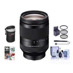 Sony FE 24-240mm F3.5-6.3 OSS E-Mount NEX Camera Lens Bundle
