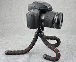Felxible Mount Tripod for Camera, DLSR Camera, Live Even Cam