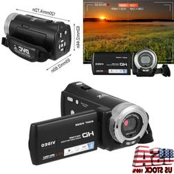 "FHD 1080P 20MP 3"" LCD 16X ZOOM IR Night Vision Digital Video"