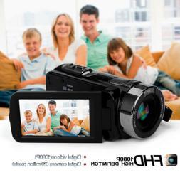 """FHD 1080P 24MP 3.0"""" LCD 16X ZOOM Infrared Digital Video DV C"""