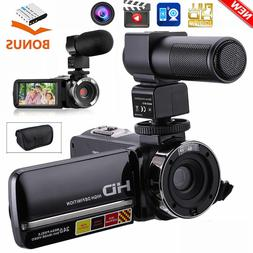 "FHD 1080P 24MP 3.0"" LCD 16X ZOOM Night Vision Digital Video"