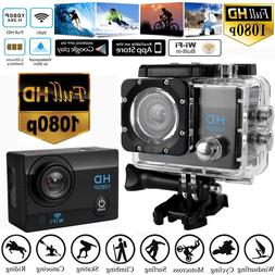 FHD Waterproof 1080P DVR 2.0inch Sports Camera WiFi Cam DV A