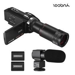 <font><b>Andoer</b></font> 4K HD Digital Video Camera <font>