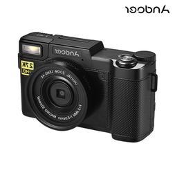 <font><b>Andoer</b></font> Full HD 24MP Digital Camera <font