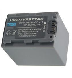 <font><b>Battery</b></font> Pack for Sony DCR-HC30E, DCR-HC3