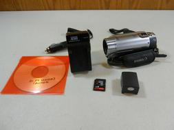 Canon FS10 Flash Media Camcorder 48 x Zoom 8GB Memory with c
