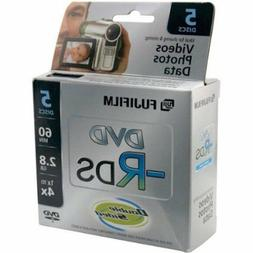 Fujifilm Media 25302910 DVD-R Camcorder 2.8GB 60 Minutes Dou