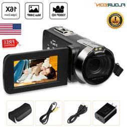 """Full HD 1080P 24MP Digital Video Camcorder Camera DV 2.7"""" TF"""