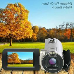 """Full HD 1080P 3"""" LCD Digital Video Camera Camcorder 4K DV 16"""