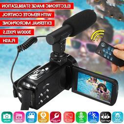 Full HD 1080P Digital Video Camera Camcorder YouTube Vloggin