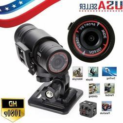 Full HD 1080P DV Mini Waterproof Sports Camera Helmet Bike A