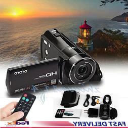 ORDRO Full HD 1080P HDV V7 Digital Video Camera Camcorder Ma