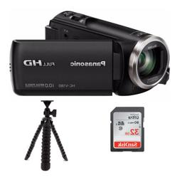 Panasonic Full HD Camcorder HC-V180K with 50X Optical Zoom b