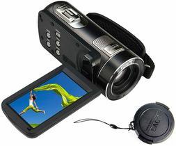 Full HD Camcorder True 30fps Max 48.0 MP Full Color Screen f