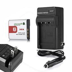 Type G Battery+Charger For SONY Cybershot DSC NP-BG1 DSC-H10