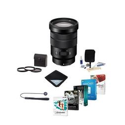 Sony 18-105mm F4.0 G OSS E-Mount NEX Camera Lens Bundle with