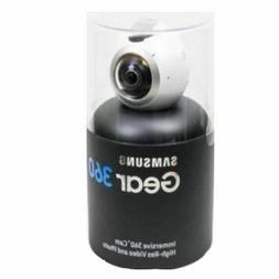 White-Brand New Samsung Gear 360 Degree Camera SM-C200 4K Vi