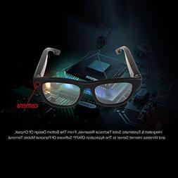 Video Glasses, Hometom Smart Live Streaming Glasses FHD 1080