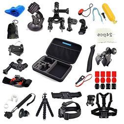 GoPro Accessories, VANDESAIL 60 in 1 Essential Bundle Kits w