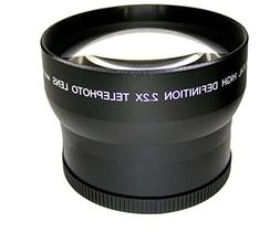 High Grade 2.2x Telephoto Conversion Lens  For Sony FDR-AX10