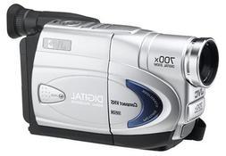 JVC GRAX890 VHS-C Camcorder w/16x Optical Zoom