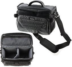 Navitech Grey Camcorder Carry Bag With shoulder Strap ForL