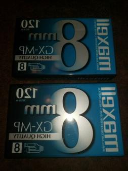 Maxell GX-MP 120 High Quality 8mm Camcorder Tape GX-MP Video