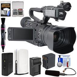 JVC GY-HM170U Ultra 4K HD 4KCAM Professional Camcorder & Top