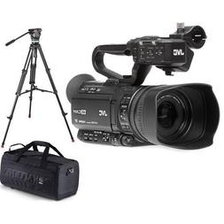 JVC GY-HM250 12.4MP 4K UHD Camcorder with FHD Live Streaming