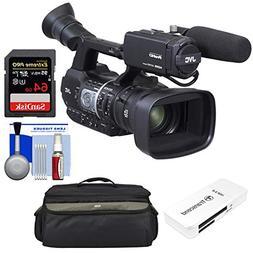 JVC GY-HM620U ProHD Professional Mobile News Camcorder + Mic