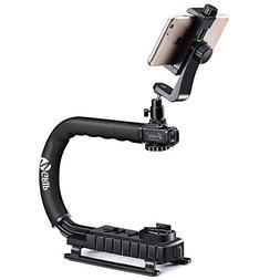 Zeadio Handheld Stabilizer + Smartphone Holder + 360 Degree