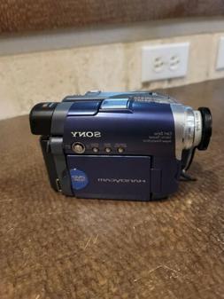 Sony Handycam DCR-DVD101E Camcorder only