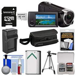 Sony Handycam HDR-CX440 8GB Wi-Fi 1080p HD Video Camera Camc