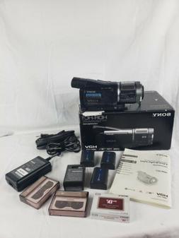 Sony Handycam HDR-HC1 Digital HD Video Camcorder Bundle, Inc