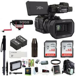 Panasonic HC-X1000 4K-60p/50p Camcorder  + Focus Deluxe Acce