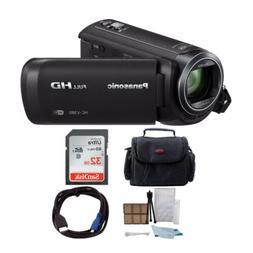 Panasonic HC-V380K Full HD 1080p Camcorder + Sony 32GB Memor