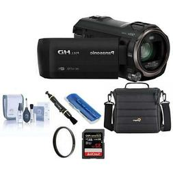 Panasonic HC-V770 Full HD Camcorder with Free Accessory Bund