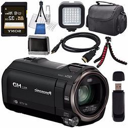 Panasonic HC-V770 HC-V770K Full HD Camcorder + Sony 32GB SDH