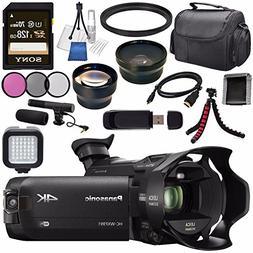 Panasonic HC-WXF991 HC-WXF991K 4K Ultra HD Camcorder with Tw