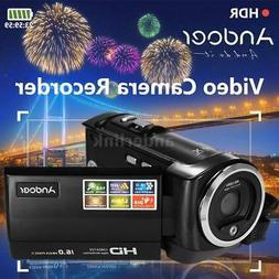 "Andoer HD 720P 16MP 16X ZOOM 2.7""LCD Digital Video Camera DV"