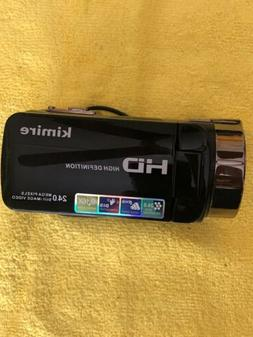 Kimire HD 1080P 16X Powerful Digital Zoom Video Camera