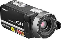 """HD 1080P 24MP 16X Digital Zoom Video Camcorder with 3.0"""" LCD"""