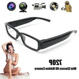 HD 720P Mini Spy Camera Glasses Hidden Eyewear DVR Video Rec