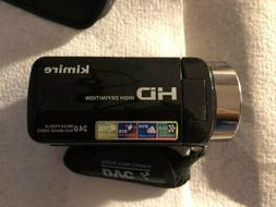 Kimire HD Digital Video Camera Used One Time