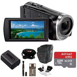 Sony HDR-CX455 Handycam Full HD 1080p Camcorder w/Lithium Io