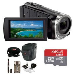 Sony HDR-CX455 Handycam Full HD 1080p Camcorder w/ 32GB Micr
