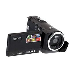 Andoer HDV-107 Digital Video Camcorder Camera HD 720P 16MP D