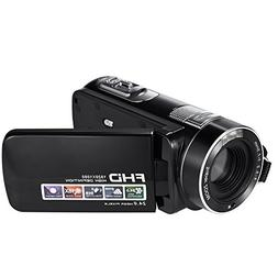 SEREE HDV-M06 FHD 1080p Video Camcorder 24MP 18X Digital Zoo